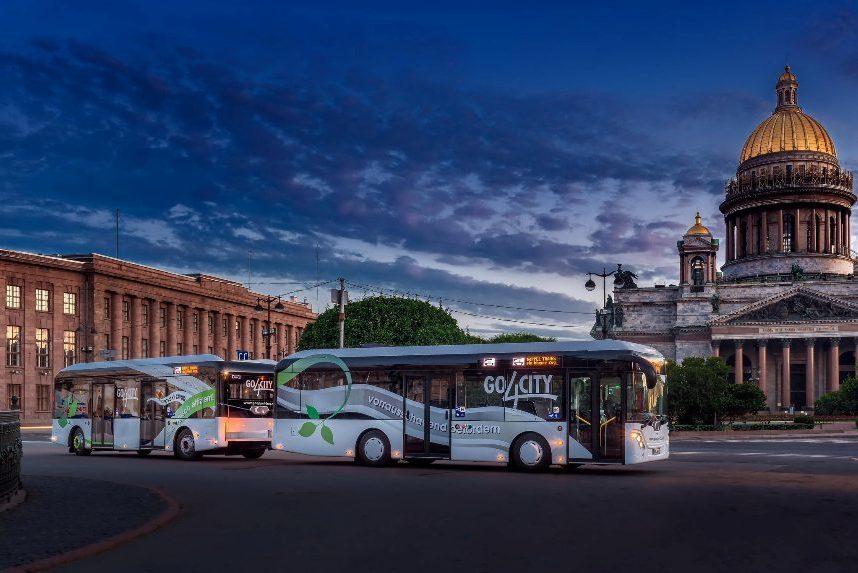 Автобусы в СПб