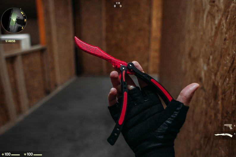 Нож-бабочка / Кровавая паутина