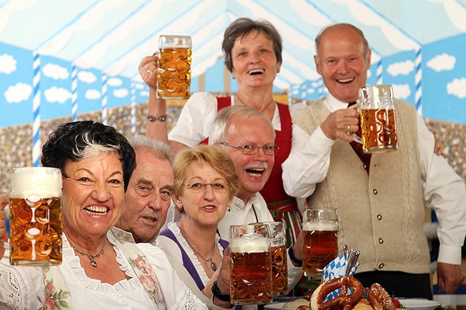 Пенсионеры Германии