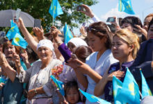 Жители Казахстана