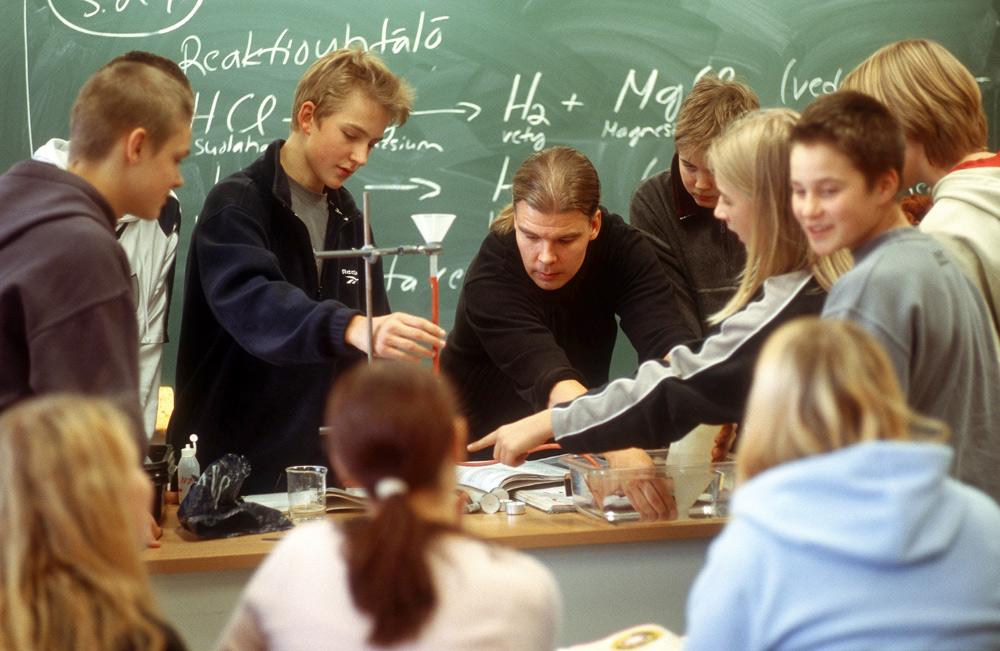 Школьные учителя в Финляндии