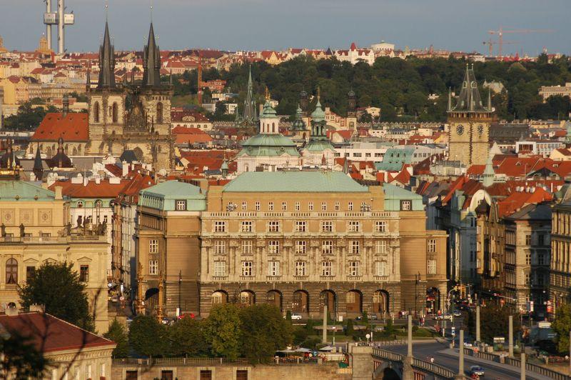 Прага. Калов университет