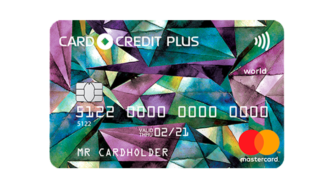 Card Credit+ Банк Кредит Европа Плюс