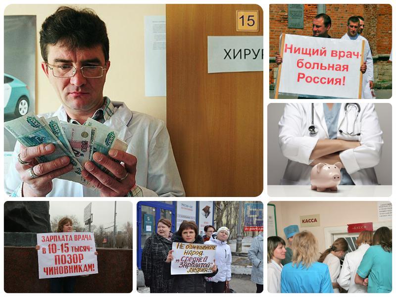 Повышение зарплаты медработникам в 2020 году в России