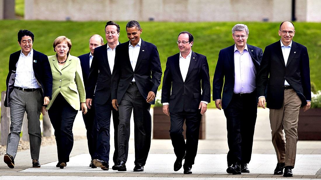 лидеры ведущих стран