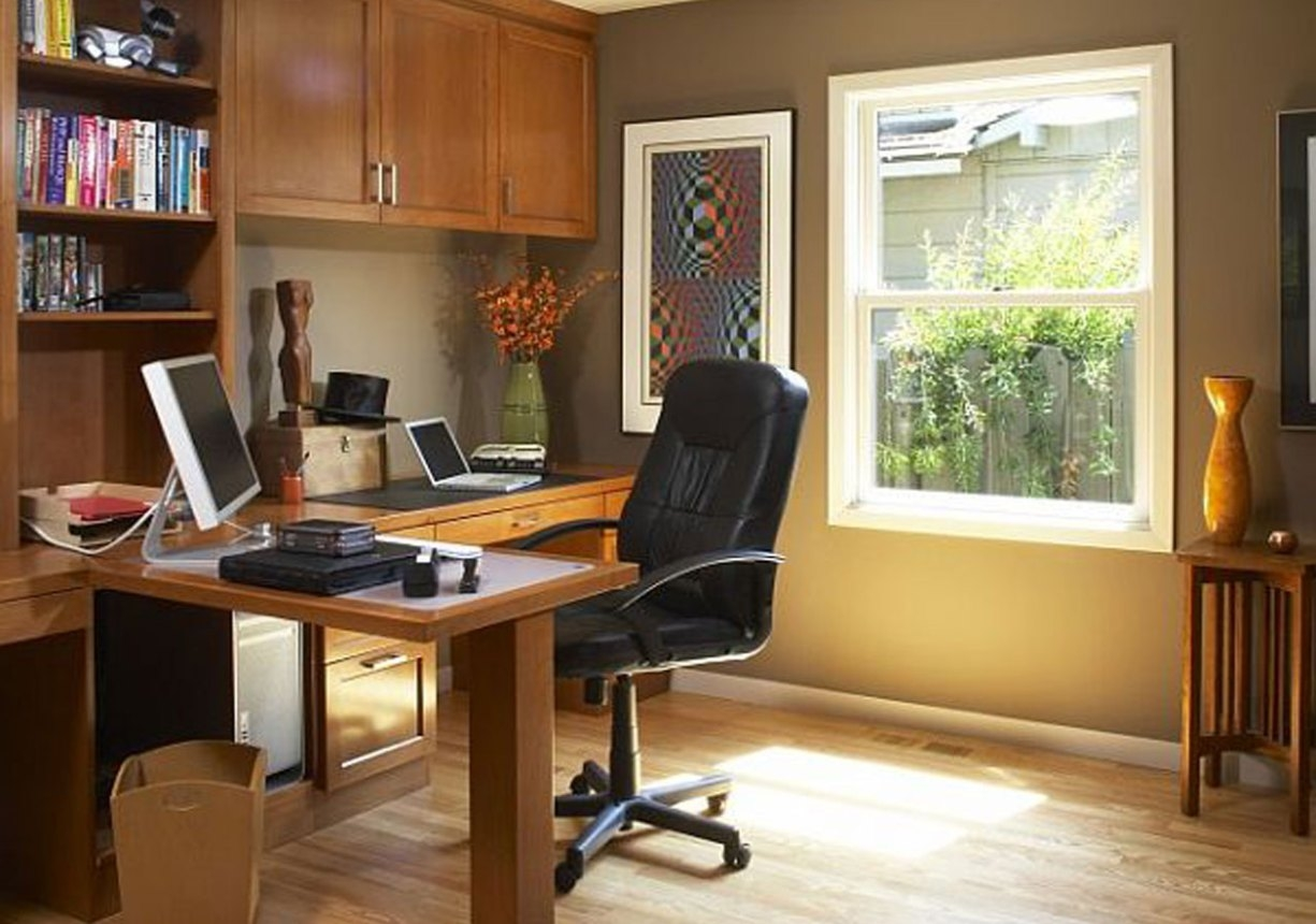 идеи обустройства рабочего места дома