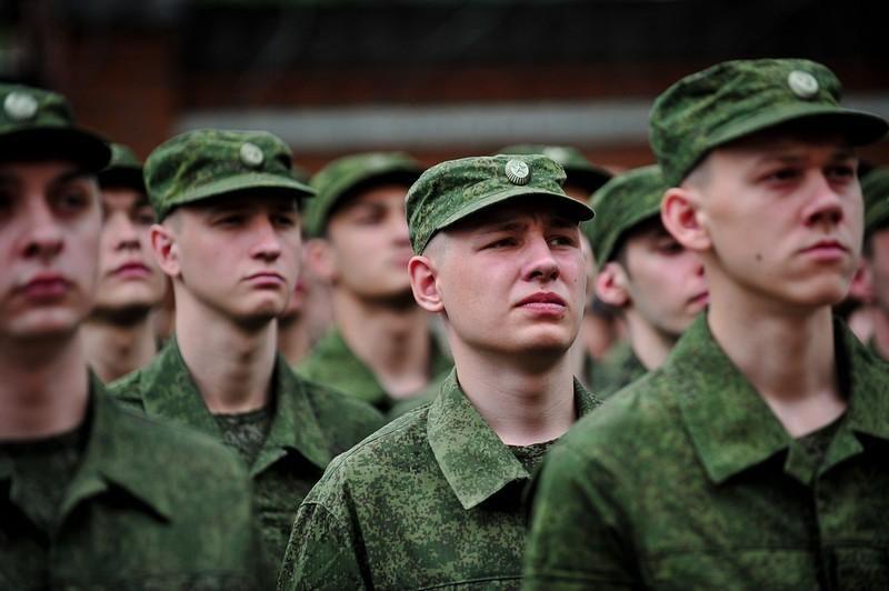 военные призывники
