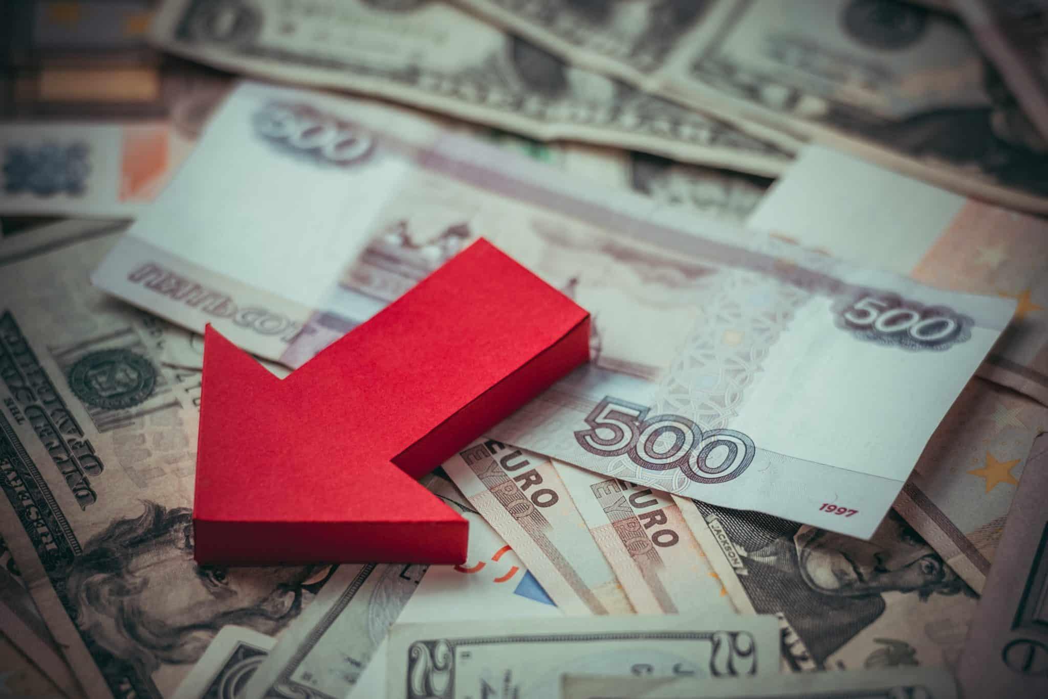 Девальвация рубля в 2021 году в России