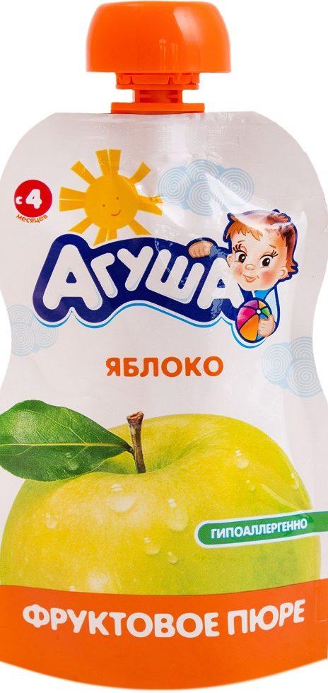 Детское яблочное пюре