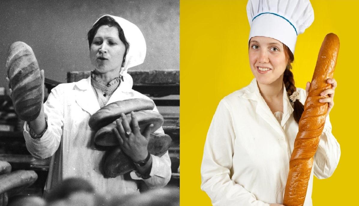 Советский и современный хлеб