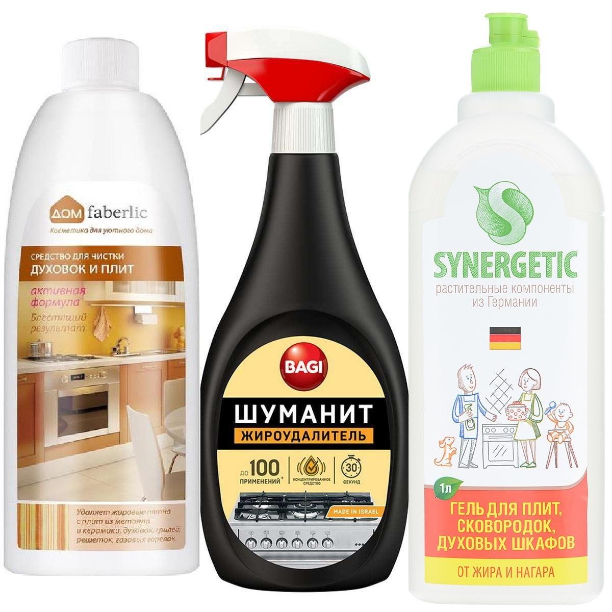 Лучшие средства для чистки духовок