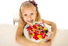 Реклама конфет и ребенок