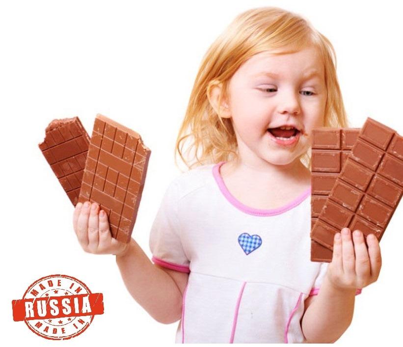 Российский молочный шоколад
