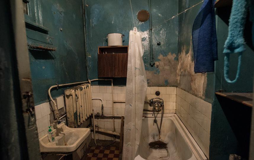 Общая ванная в коммунальной квартире