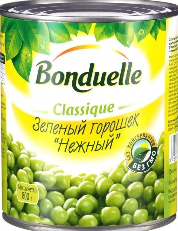 Зеленый горошек Бондюэль