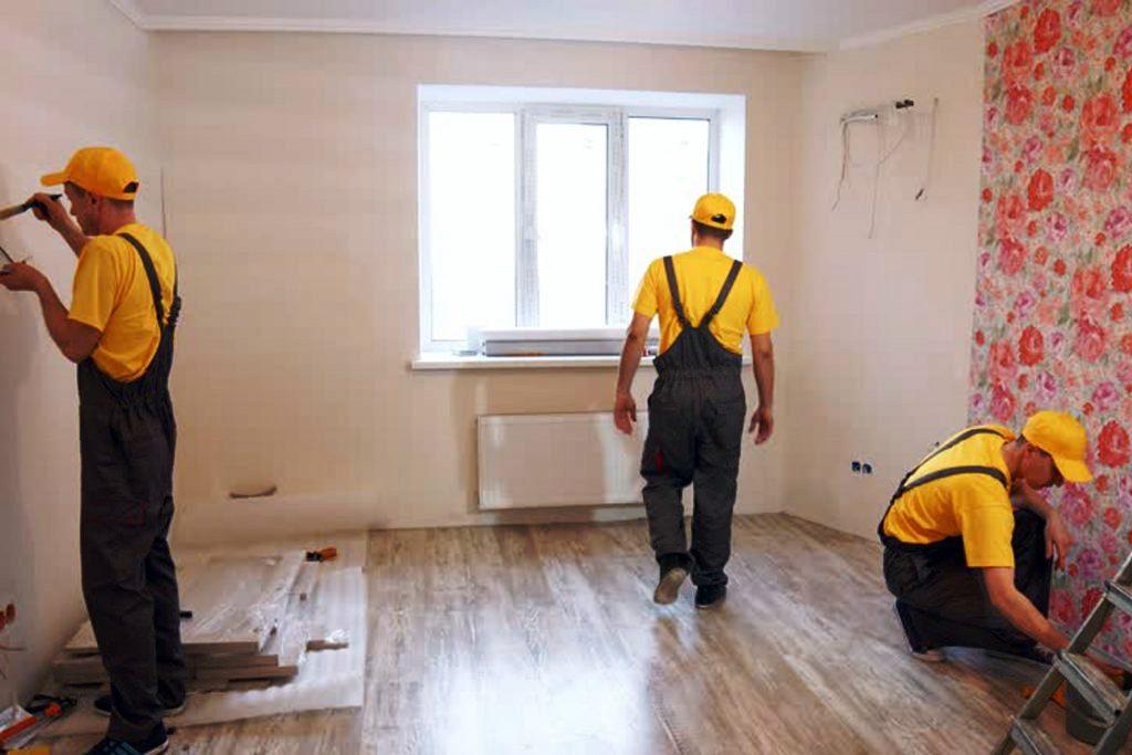 Работа подрядчиков