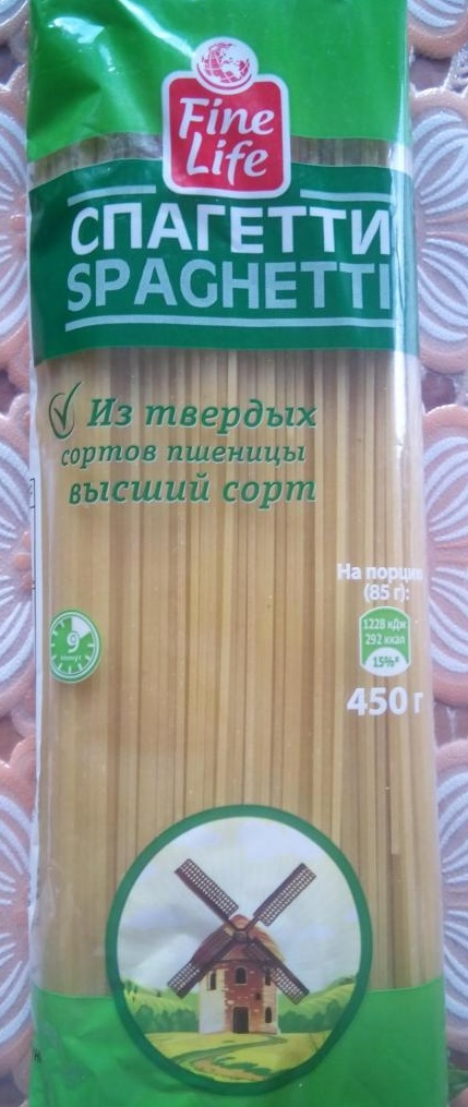 Спагетти Fine Life