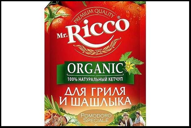 Упаковка кетчупа для шашлыка