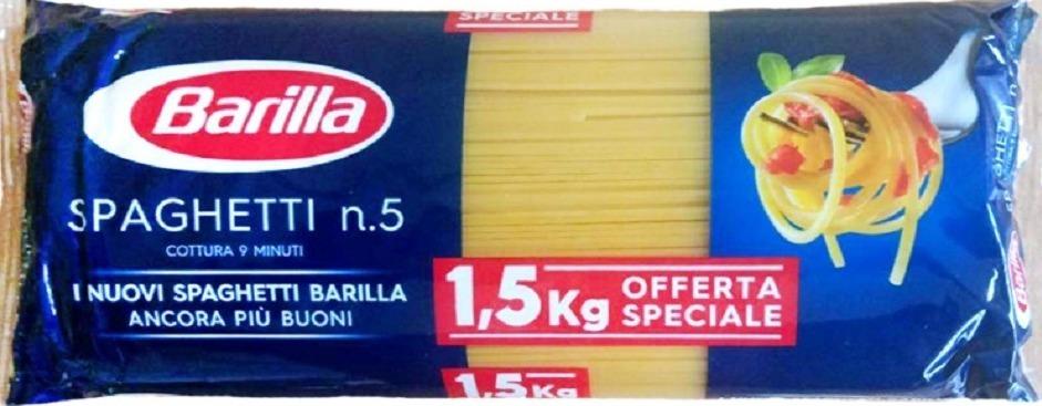 Спагетти Barilla
