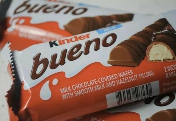 Шоколадно-вафельные батончики Kinder Bueno