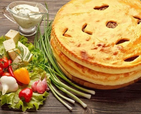 Осетинские пироги с овощами