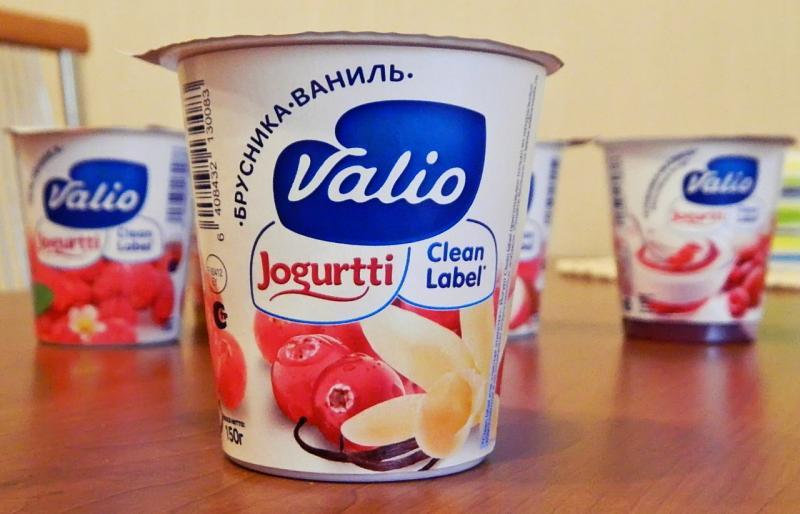Йогурт Valio