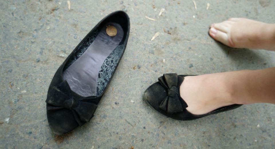 Монетка в обуви