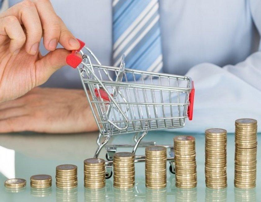 Мини-корзина для покупок и мелочь