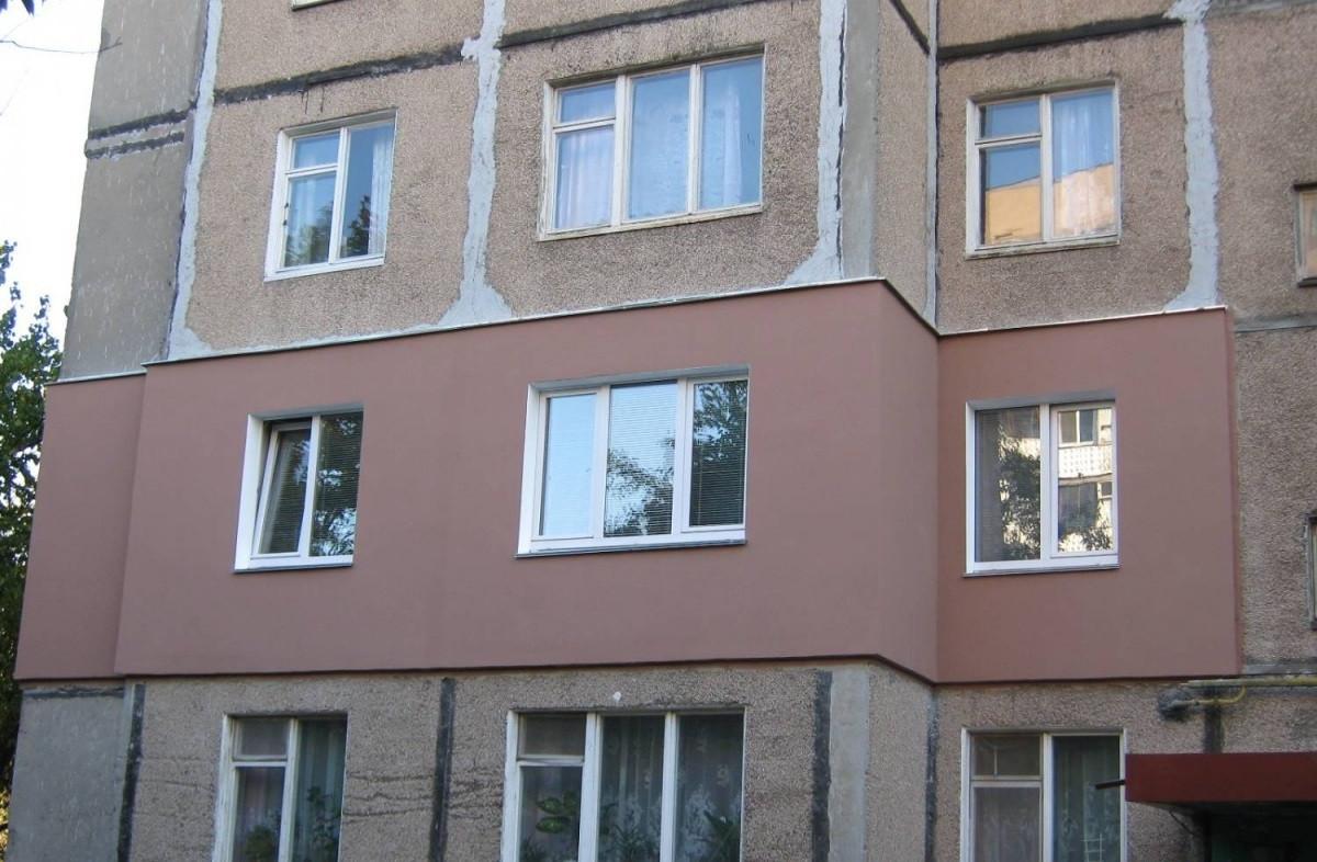 Утепленный фасад