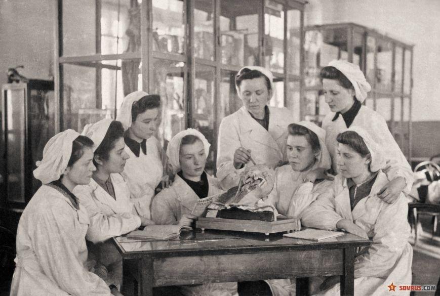 Работницы советского общепита