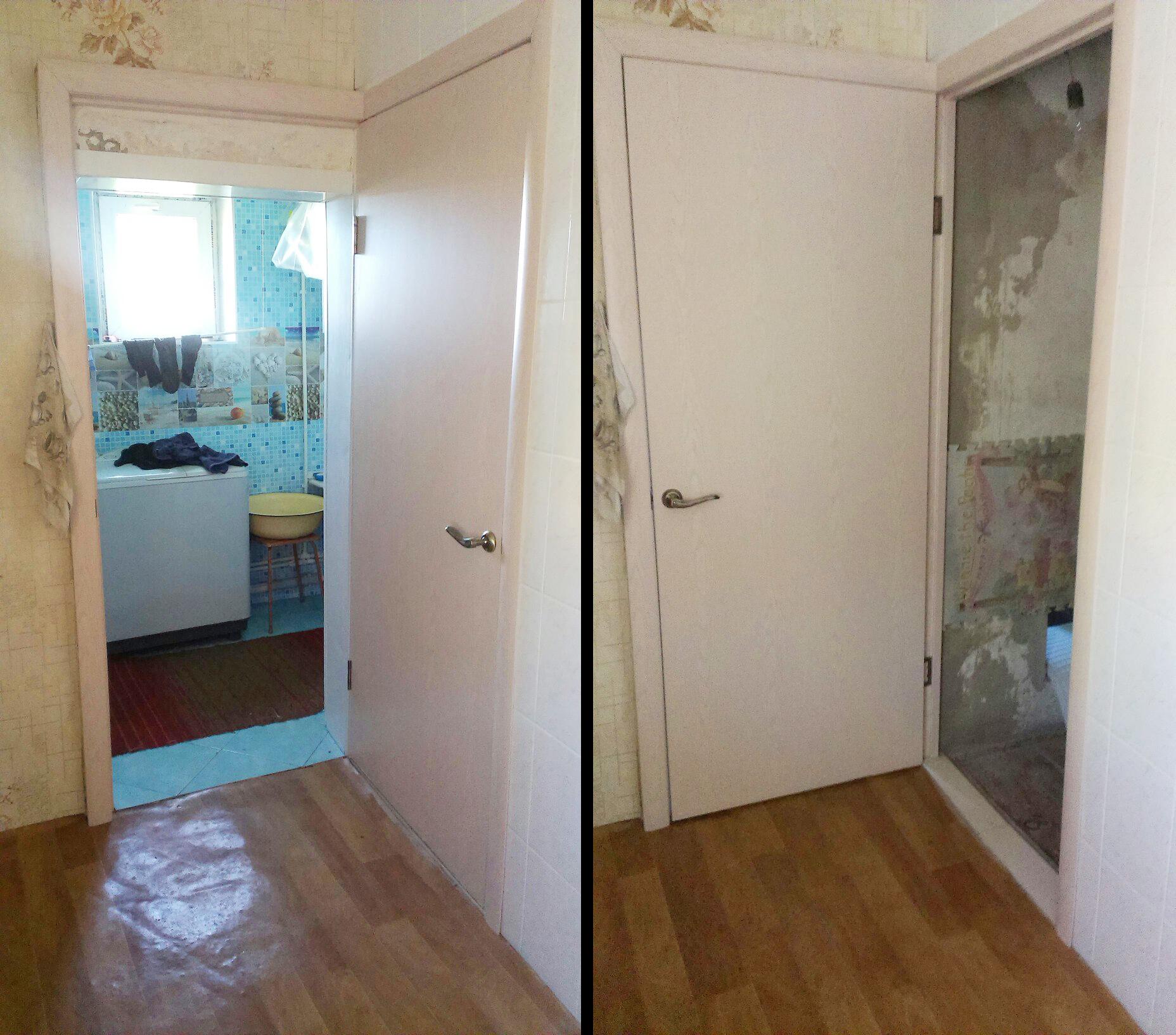 Одна дверь на два проема