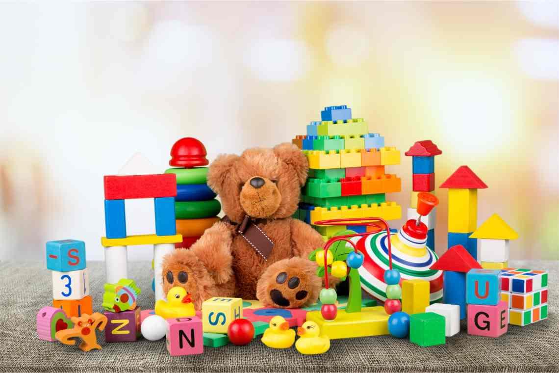 Груда игрушек