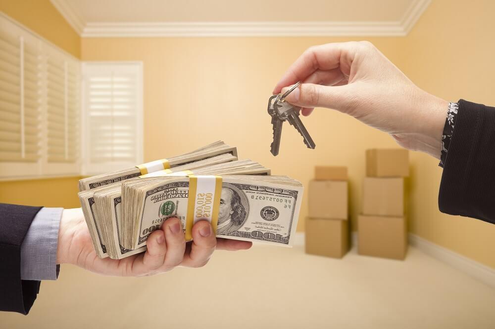 Обмен денег на ключи