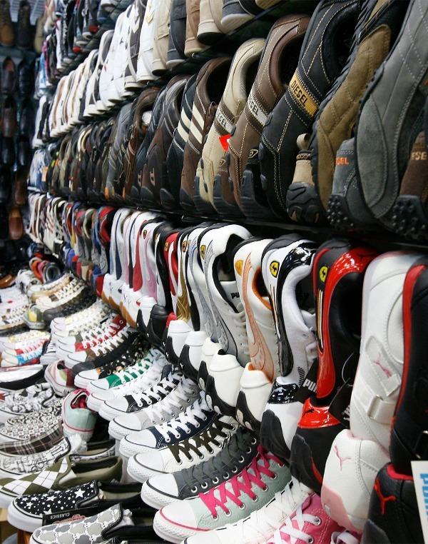Кроссовки в продаже