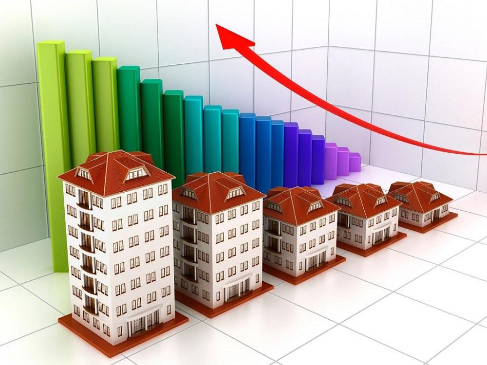 Растущий график цен на недвижимость