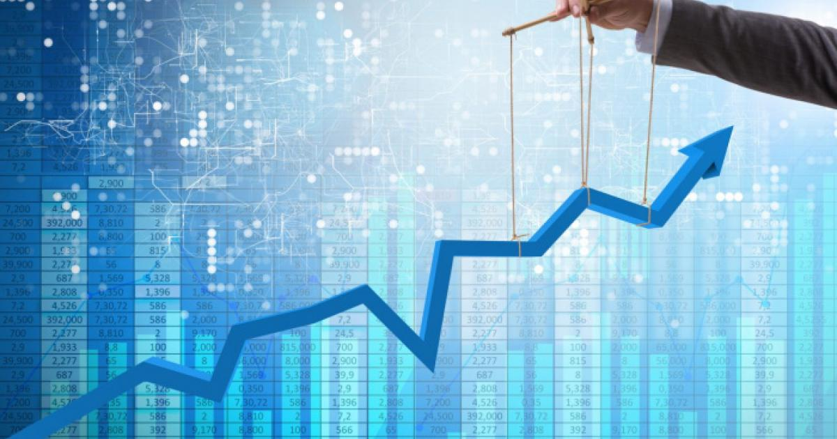 Растущий график и ручное управление
