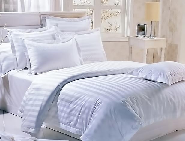 Страйп-сатиновое постельное белье