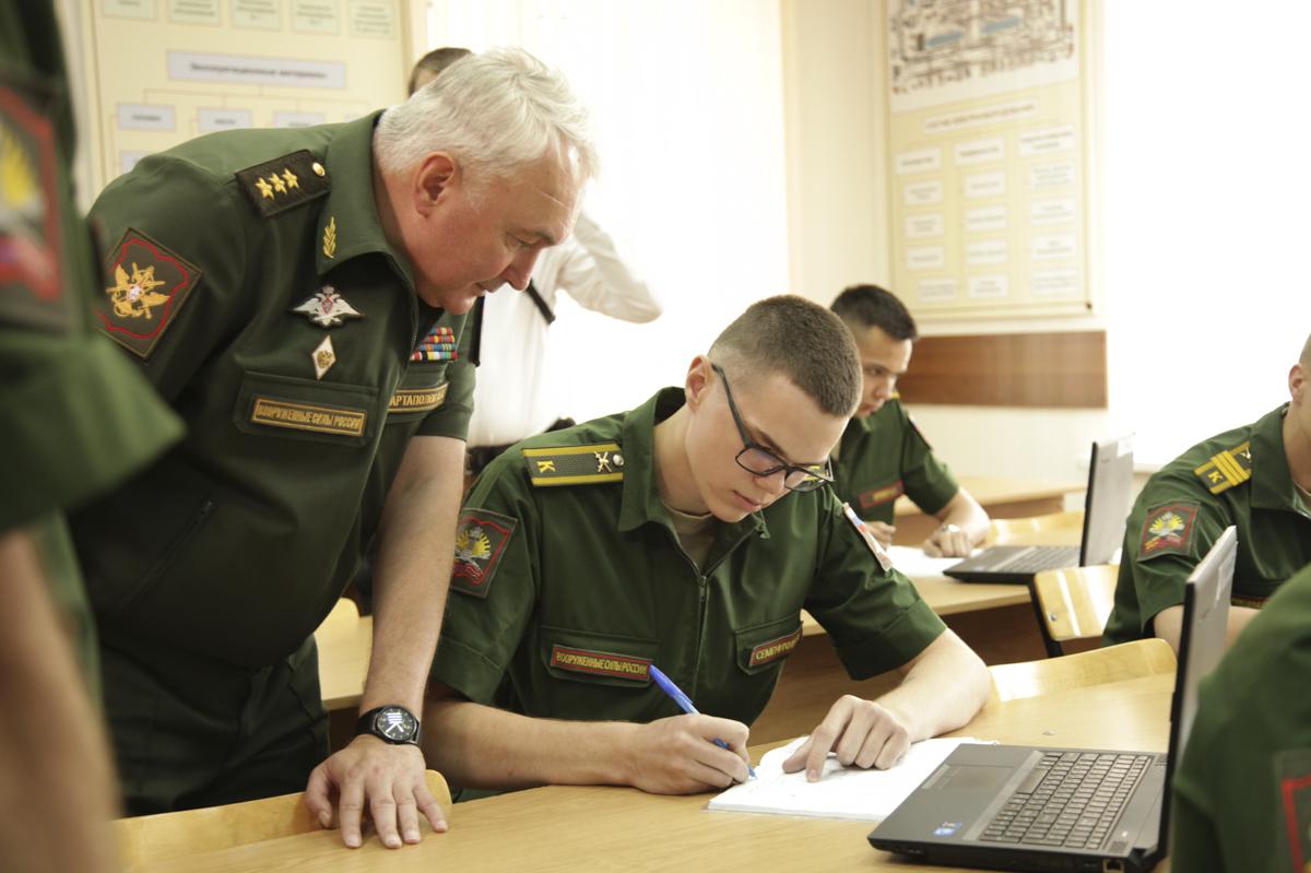 Учебный процесс в военном образовательном учреждении