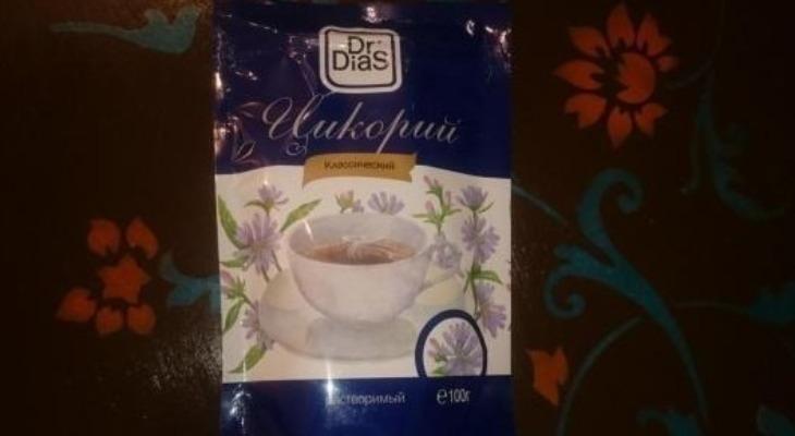 Цикорий Dr. Dias классический растворимый в упаковке