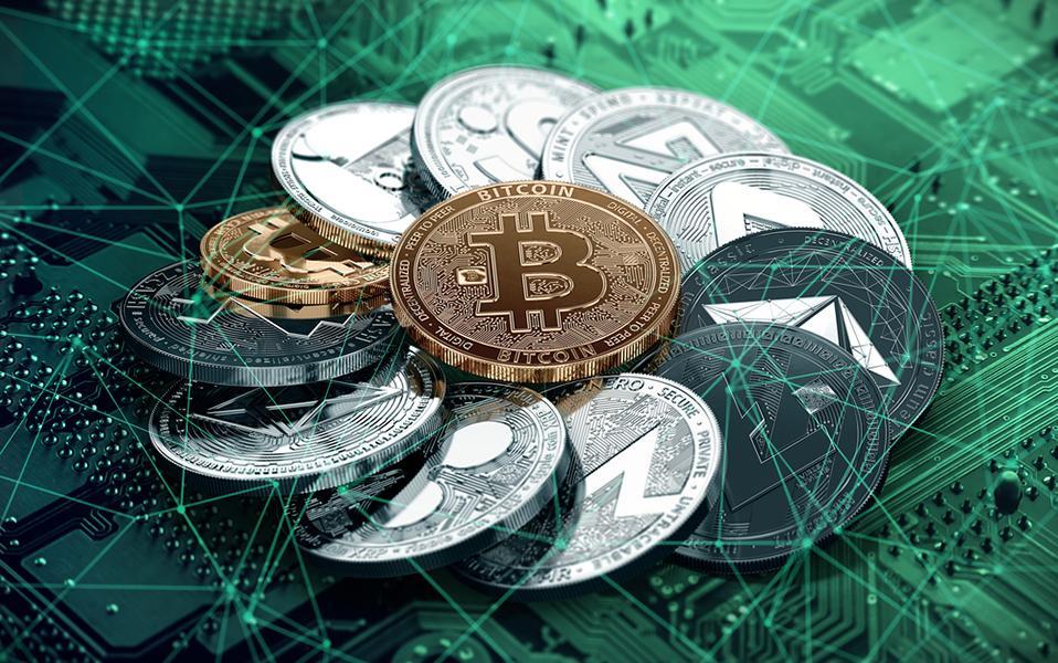 Разные криптовалютные коины