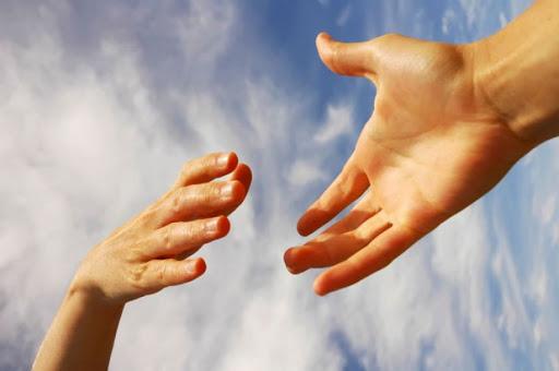 Протянутая рука помощи