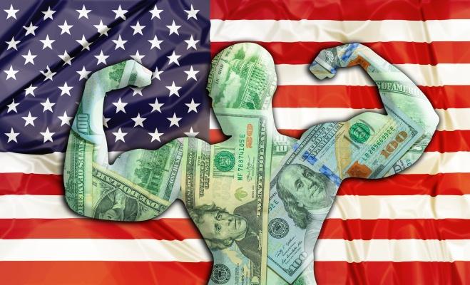 сила американского доллара