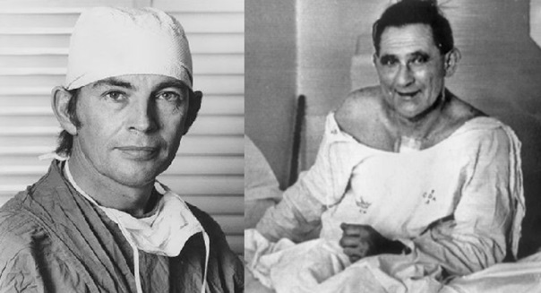 Кристиан Барнард и его пациент
