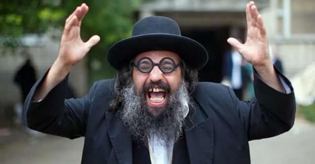 Возмущающийся еврей-ортодокс
