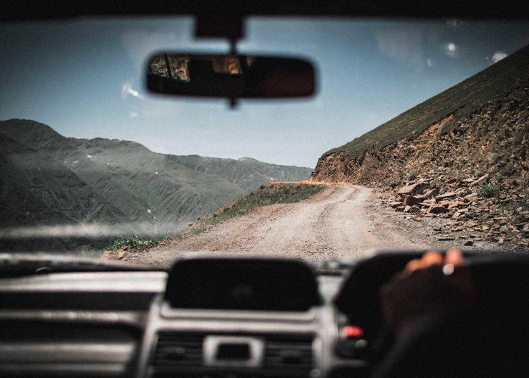 По горным дорогам на авто