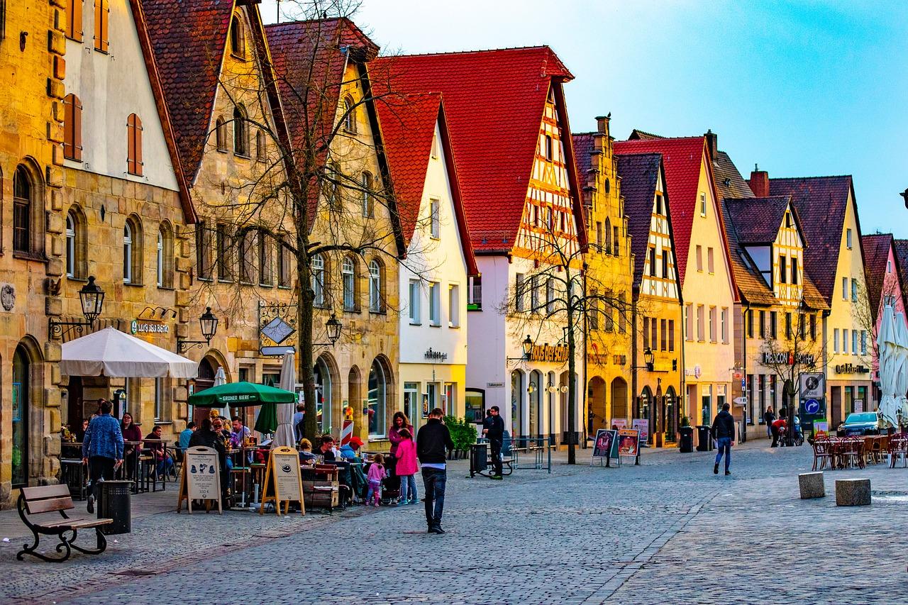 Немецкий город