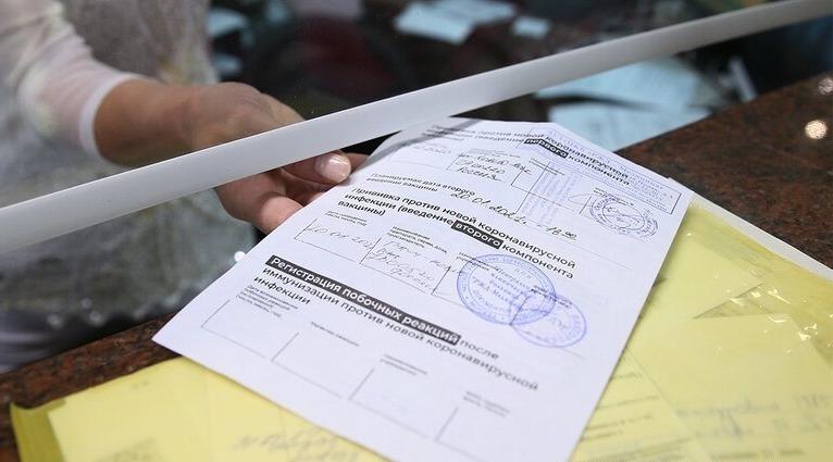 Предъявление сертификата о вакцинации против Covid-19