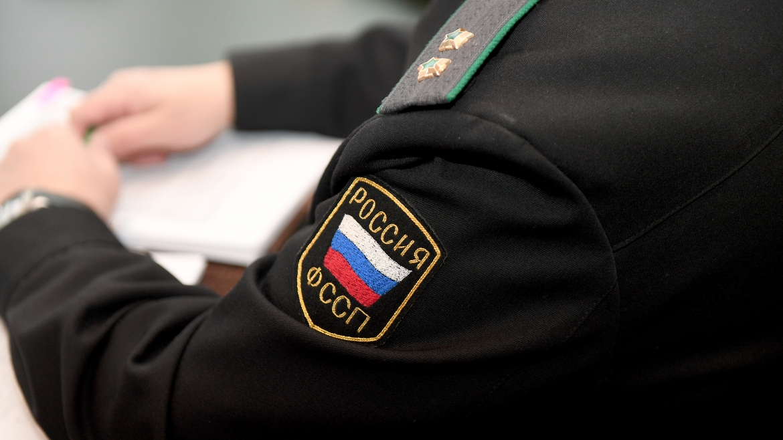 Шеврон ФСПП РФ на форме