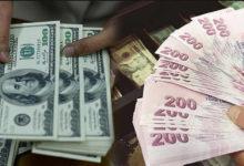 Доллары и турецкие лиры в руках