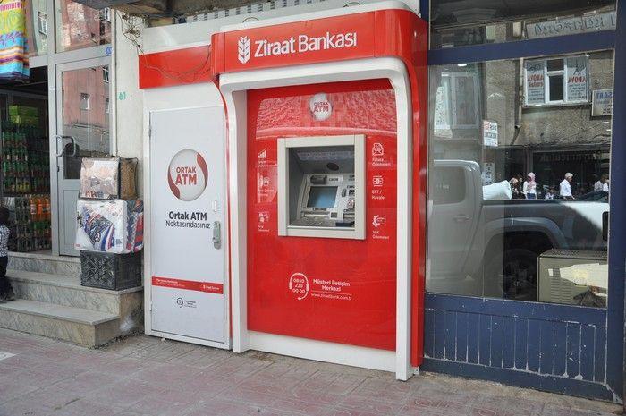 Турецкий банкомат